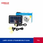 Power Bank Tenaga Surya + Lampu Multi Guna (Litsumi)